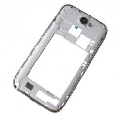Middle cover Samsung N7100 NOTE 2 white